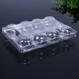Desechable clamshell claro embalaje de alimentos supermercado vegetal / fruta / bandeja de calor