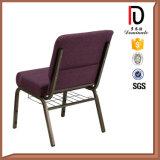 赤く柔らかいスエードの霜教会椅子のブロムJ018