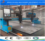 Máquina de estaca do plasma do pórtico do CNC da placa de aço