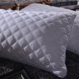 Relleno de microfibra con Shell de algodón poliéster Hotel Lujo almohada insertar
