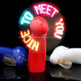 Promocional mini ventilador intermitente de luz LED con el logotipo impreso (3509)