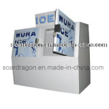 Portas duplas populares congelador para armazenamento de Gelo Gelo em sacos de 200