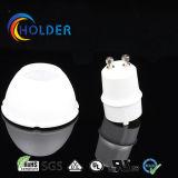 GU10 Taza de la lámpara con el sostenedor de la lámpara (superficie lisa y cóncava-convexa)