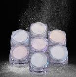 Decoraciones del polvo del cromo del brillo del arte del clavo del shell del polvo del pigmento