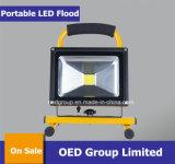 10W bewegliches nachladbares LED Flut-Licht mit Sonnenkollektor