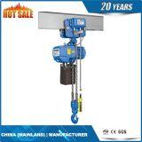 2.5t escogen el alzamiento de cadena eléctrico de la caída de cadena