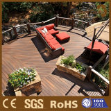 Decking de terrasse de coextrusion de Foshan WPC, plancher composé de WPC