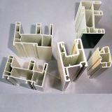 Profil en ivoire de PVC de blanc pour Windows et portes en Chine