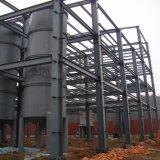 セリウムの証明の前設計された鉄骨構造の建物