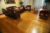 Suelo de madera dirigido del salón