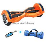 착색된 빛 스쿠터를 가진 2 바퀴 Hoverboard 8 인치 Bluetooth 각자 균형을 잡는 스쿠터 지능적인 전기 Hoverboard 전기 스케이트보드 전기 스쿠터