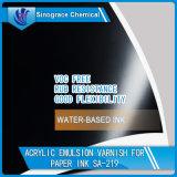 Emulsión de acrílico híbrida para el barniz de la impresión sobrepuesta