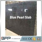 Lajes azuis Polished por atacado do granito da pérola para bancadas da cozinha