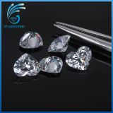 Fábrica Atacado 5X5mm Heart Shape Cubic Zirconia Gemstones for Jóias