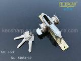 Bom fechamento de porta do preço para a porta de alumínio com corpo do fechamento do metal da segurança