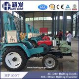 Hf100tのトラクターによって取付けられる井戸の掘削装置、小型掘削装置