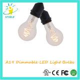 3W de Lamp van Whosale van de Nieuwe LEIDENE van het Ontwerp A19/A60 Bol van de Gloeidraad