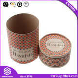Коробка косметики дух подарка изготовленный на заказ круглого картона упаковывая