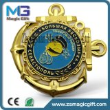 スポーツ賞メダル、記念品の連続したメダル、軍の金属をカスタム設計しなさい