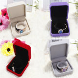 Velvet / Tecidos Brincos de papel / Ring / Bracelet Box / Gift Packaging Jewelry Box