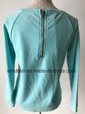 Glänzender schöner Terry-Pullover für Mädchen mit brennen aus