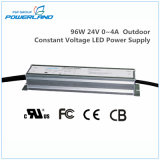 96W 24V 0 ~ 4A Rainproof Outdoor Constant Voltage LED Alimentação