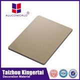 Materiales compuestos de aluminio del revestimiento de la pared del panel de Alucoworld