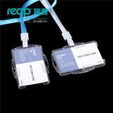 Doppelter Gebrauch-vertikale und horizontale Plastikversicherungs-Kartenhalter