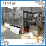 Автоматическая машина завалки минеральной вода для пластичных бутылок