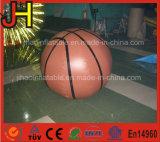 Aerostato gonfiabile gigante rotondo dell'elio di pallacanestro dell'aerostato di aria
