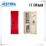 Refrigerador vermelho do VCM com congelador superior