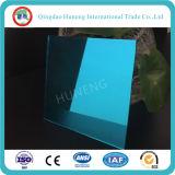 اللون الأزرق [2-6مّ] الصين ألومنيوم فضة يلوّن مرآة زجاجيّة
