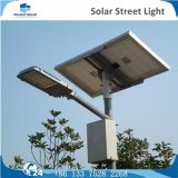 luz de rua tradicional do diodo emissor de luz da potência solar da estrada da recolocação da lâmpada de 6m