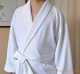 Hôtel blanc textiles Fine Cotton Waffle peignoir de bain