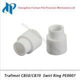 Trafimet CB50/CB70 плазменного резака материалы комплект кольцо завихрения PE0007