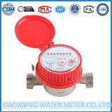 수평한 회전자 유형 제트기 물 미터