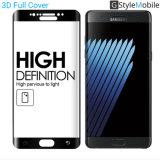 Protezione curva completa brandnew per Samsung, galassia S8 dello schermo di vetro Tempered dei 2017 di AGC Asahi di vetro 9H 3D accessori del telefono mobile di Samsung