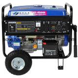 generatore raffreddato ad aria della benzina dei due cilindri 8kw (HY12000E)