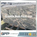 Черной совершенно, голубой гранит отполированный перлой для сляба или камень строительного материала плитки