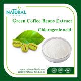 Порошок кофейного зерна 95% зеленого цвета поставкы фабрики хлорогеновый кисловочный