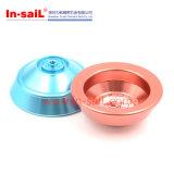 China-Hersteller CNC, der für Aluminiumanodisierenteile 6061-T6 maschinell bearbeitet