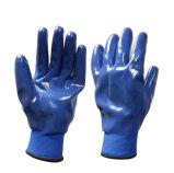 ニトリルの手袋は十分に庭の手袋作業手袋を浸した