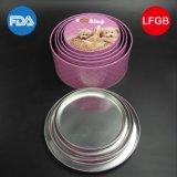 Круглая коробка олова шаржа с благоприятным ценой (R008-V2)