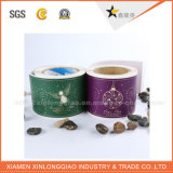 Logo Vinilo autoadhesivo papel PVC Decal Envolturas de impresión de etiquetas engomada