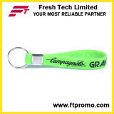 OEM 로고를 가진 선전용 인쇄된 실리콘 소맷동 열쇠 고리