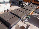 Ligne creuse manuelle de production à la machine de bloc