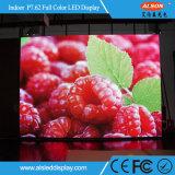Tela de indicador interna cheia do diodo emissor de luz da cor HD P7.62 para anunciar