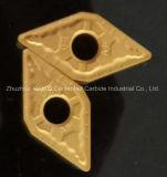 Het Draaien van het cermet de Tussenvoegsels van het Carbide (Dnmg150604/08/12)