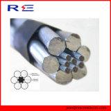 Conducteur renforcé par acier en aluminium du conducteur ACSR d'ASTM B232