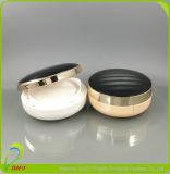 Boîtier avec finition miroir cosmétique Poudre blanche à l'emballage